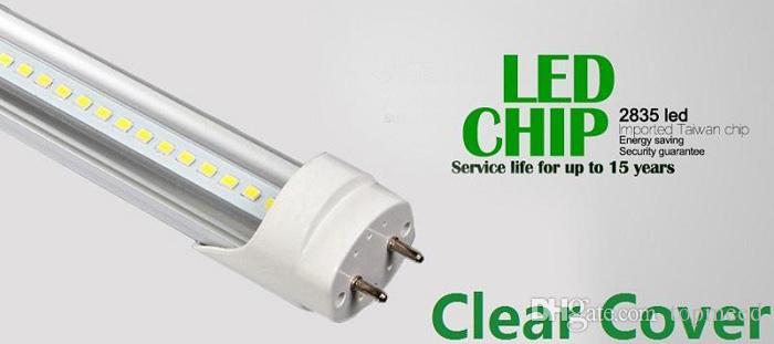 セリウムROHS UL 1.2M 4FT T8 22W LEDチューブライト2400LM 110-240V LED照明蛍光灯灯+保証3年X50