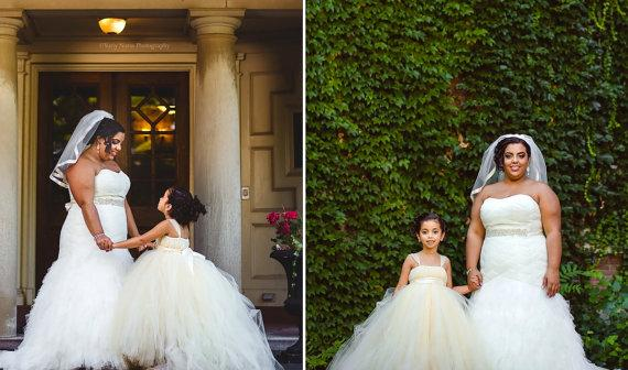 Kwiat Kwiat Kwiat Suknie Z Odpinanym Pociąg Miniaturowy Panna Młoda Suknia Suknia Balowa Długość Piętro Dziewczynka Suknia Ślubna Junior Druhna Suknie