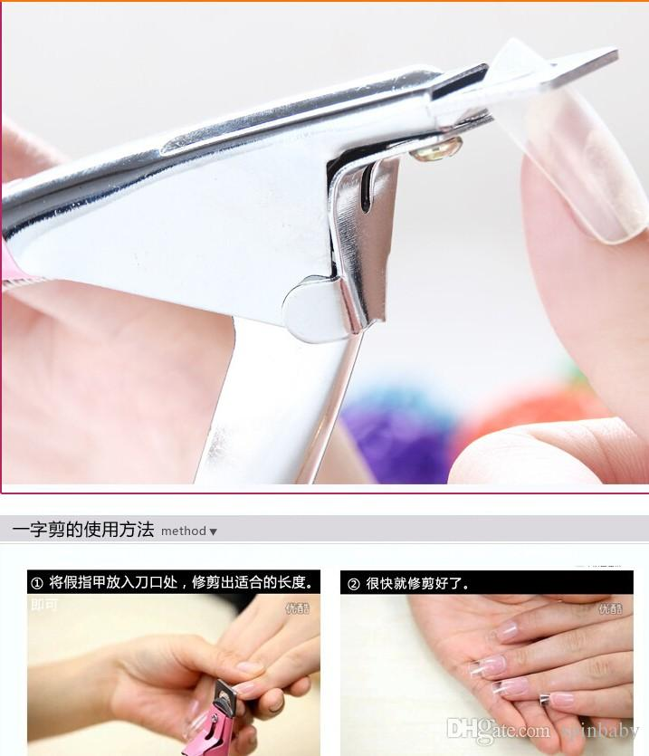 New Professional Manicure Tool Acrylic Gel/ False Nail Cutter ...