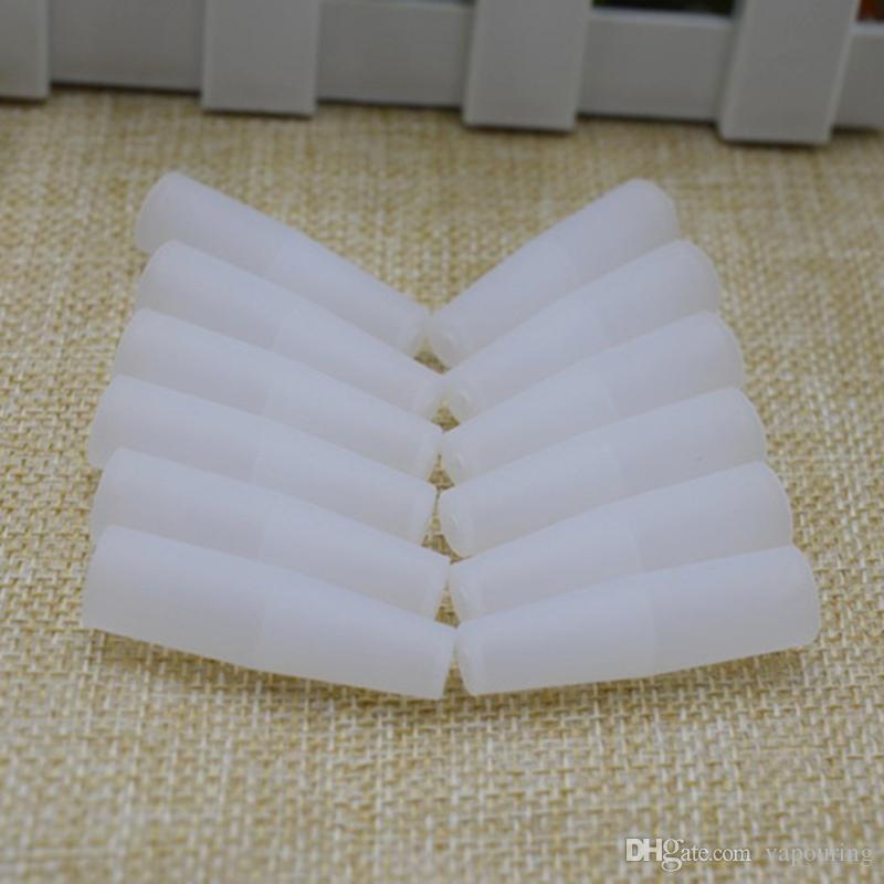Wegwerftropfenfänger-Mundstück-Kappen-Silikon-Abdeckung für VAPE-Zerstäuber-Test-Zweck-Zerstäuber E Cig einzeln eingewickelt Qualität DHL