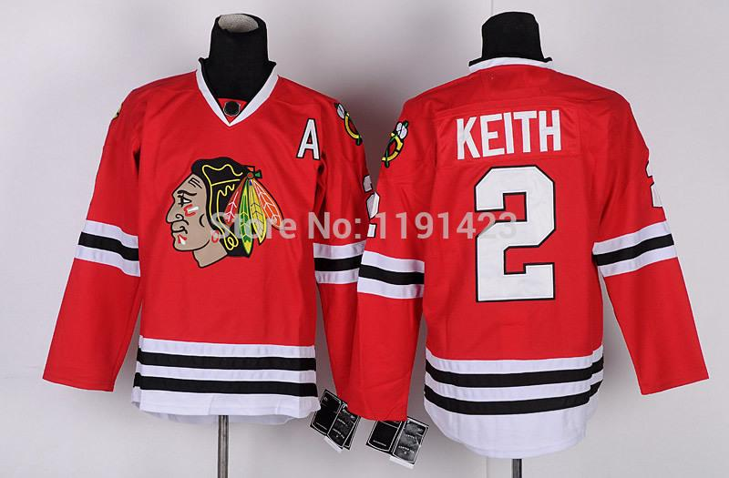 15-Cheap Chicago Blackhawks Hockey Jerseys Duncan Keith Jersey #2 Home Red Road White Third Black Green Stitched Jerseys A Patch_2.jpg