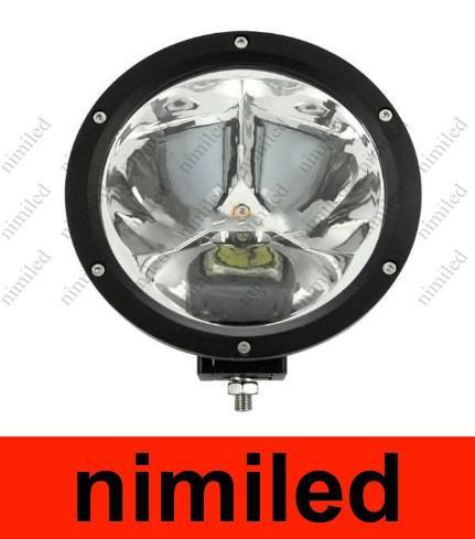 UTV için Yuvarlak Cree led Işık Kamyon 45 W 4X4 LED İş Işık ATV AWD 12 V / 24 V Araba offroad Işık 4WD Nokta 30 Derece 4500lm 3X15 W HSA1928