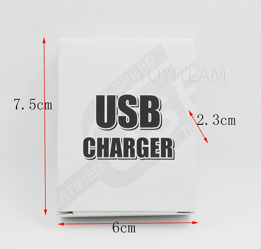 packing for usb charger paper box usb car charger usb home charger 250g gray paper board small and mini
