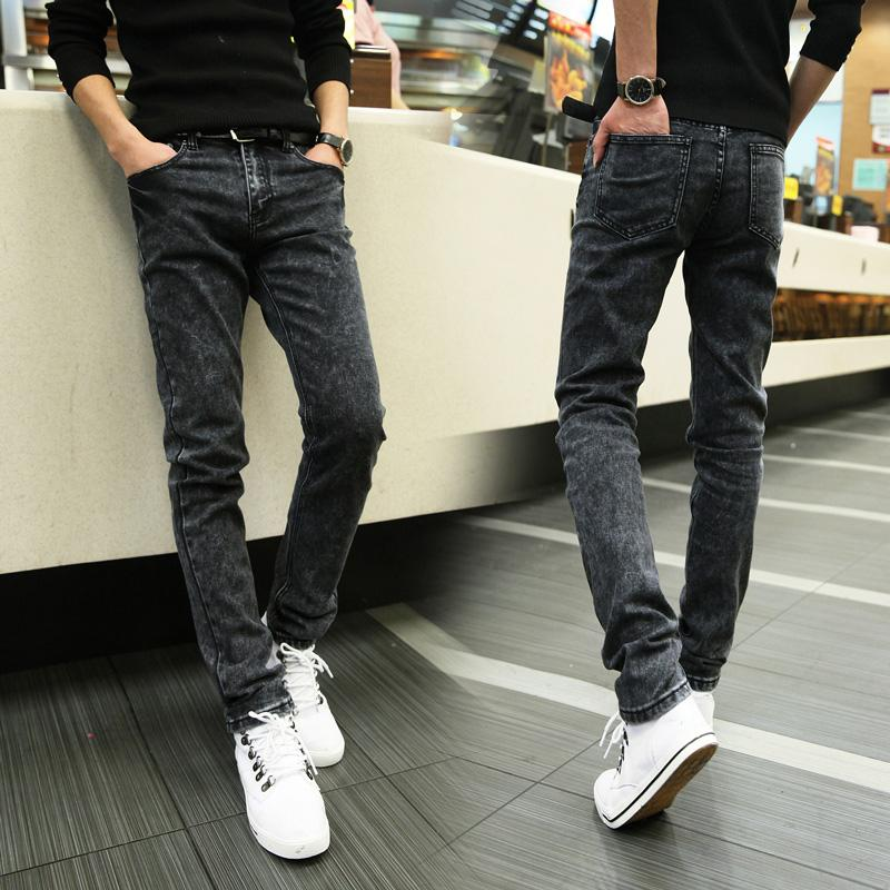 Spring And Autumn 2015 New Arrival Jeans Men Slim Skinny Jeans Men