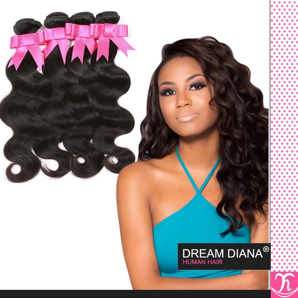 Rosa Productos para el cabello Brasileño Virgen Profundo Onda del cuerpo Tejido 4 paquetes Ofertas Grado 6a Brazillian Sin procesar Pelo virgen Cheveux Bresilien