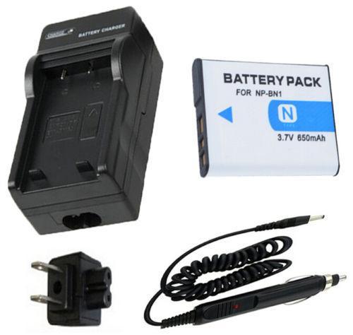 dsc-w810 Batería 2-pack + Cargador Para Sony Cyber-shot dsc-w800 dsc-w830 Cámara