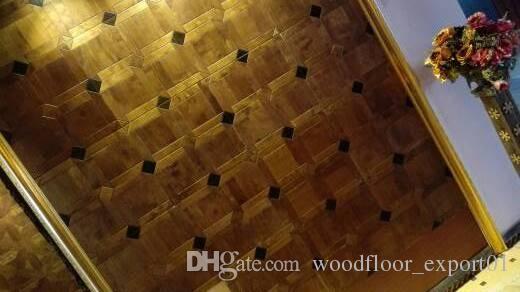 Wood floor Parquet engineered floorPolygon Ebony floor Profiled wood flooring Asian pear Sapele wood floor Private custom wood floor Decorat