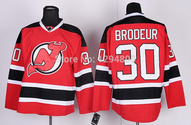 2-Men\`s New Jersey Devils Hockey Jerseys #30 Martin Brodeur Jersey Home Red Road Away White Cheap Stitched Jerseys China_1.jpg