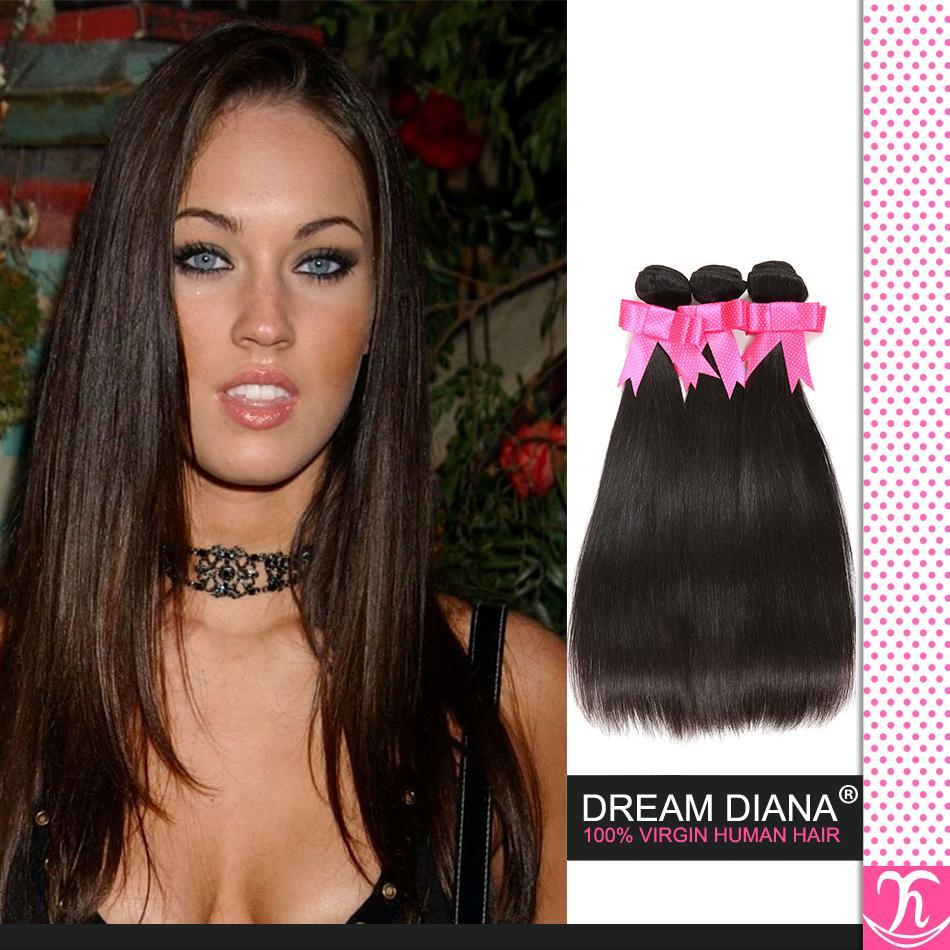 Virgem Cabelo Hot Hair Beauty brasileira Hetero Cor 1b 8a virgem da classe não transformados cabelo humano brasileiro virgem do cabelo 4 Pacotes Luvin cabelo