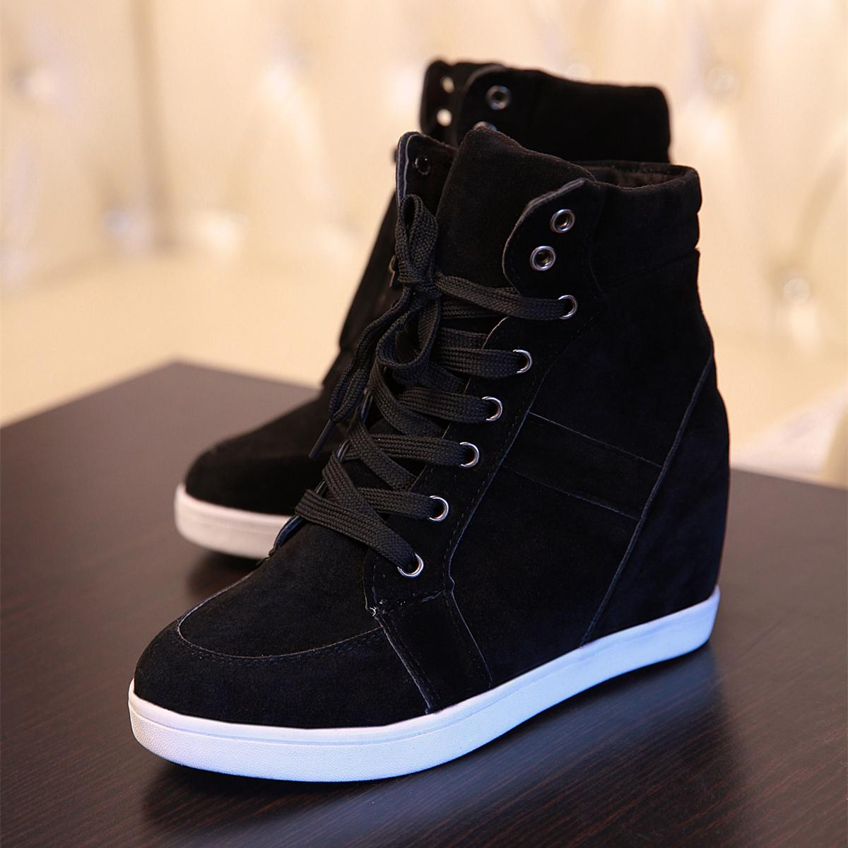 high top wedge sneakers Shop Clothing