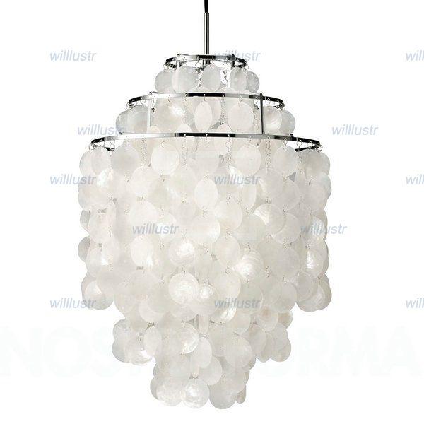 Top Verner Panton Design Shell Lamps Fun 2 And 3 Circle Diy Shell  NC65