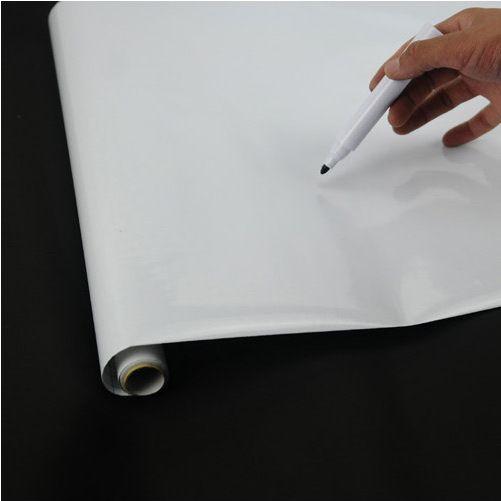 Wholesale-Hot Sell 2015 Tableau blanc magique Décor Vinyle mural Tableau blanc Sticker Papier peint Effacer White Board Livraison Gratuite LO07