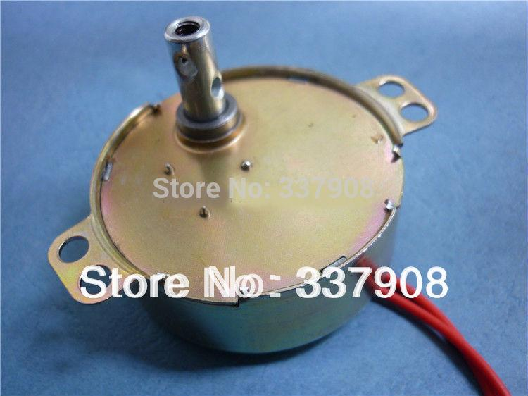 1PCS 49TYD Permanent Magnet Synchronous Motor Electric Fan Switch Shaking Head Motor 220VAC/50/60Hz/3-4W/5RPM,FREE SHIPPING