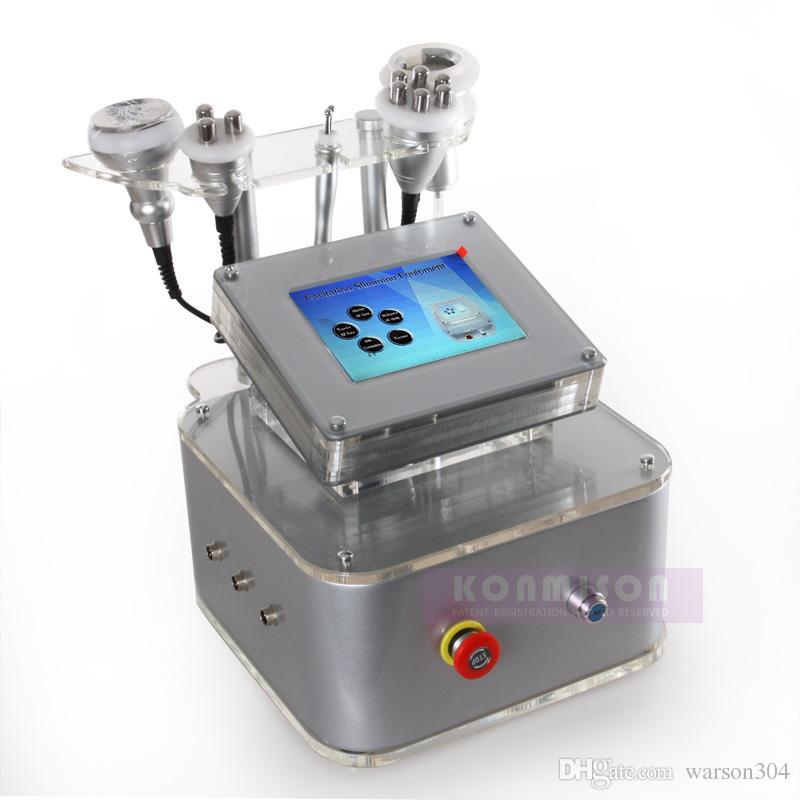New Minceur Équipement / Latest RF Cavitation Slimming Machine / 5 en 1 multifonction Machine de beauté Cavitation RF vide pour le poids Laser Perte