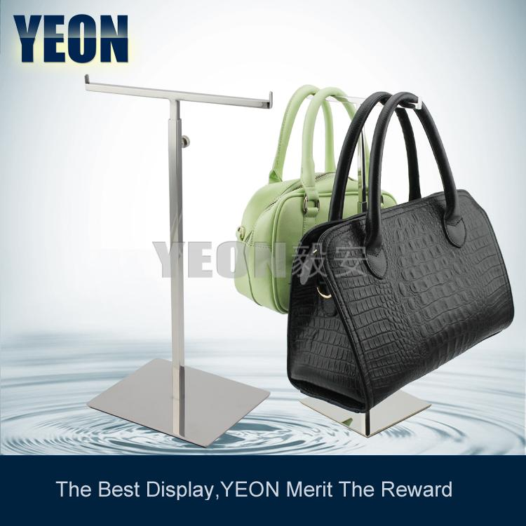YEON double sided multifunctional bag display holder fashion scarf rack men tie holder jewelry store fixture,10pcs/lot