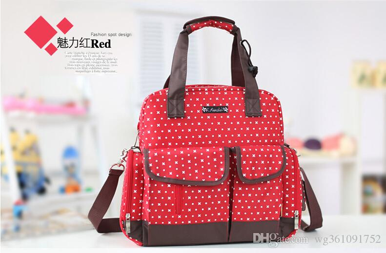 designer backpack diaper bag q5o0  2017 Fashion Baby Backpack Diaper Bag,Baby Bag Backpack Large  Capacity,Famous Designer Diaper Bag Big Size,Black,Red,4 Optional Color  From Wg361091752,