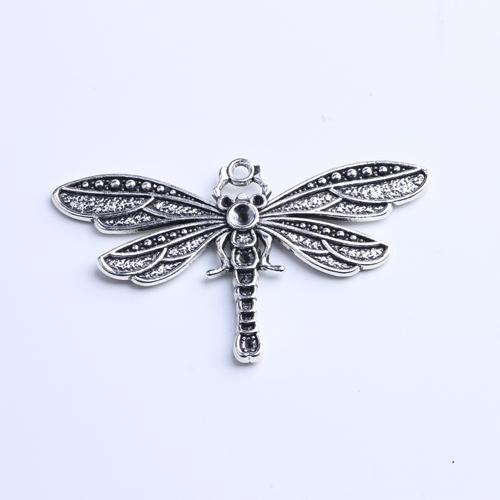 Pingente em forma de libélula estilo retro prata cobre cores contas Pandora Pingente Apropriado para fazer DIY colar 10 pçs / lote 922