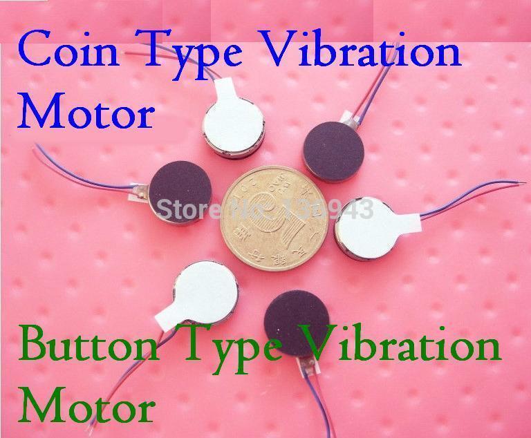 100pcs/lot 10*2.7 MM Ultra Micro Button Type Vibration Motor 3-4.5V/0.05-0.07A Electric motor Free shipping