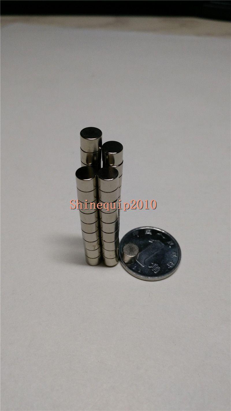 200pcs Neodimio Disc Mini 5 X 4mm Rare Earth N35 Magneti potenti Modelli artigianali