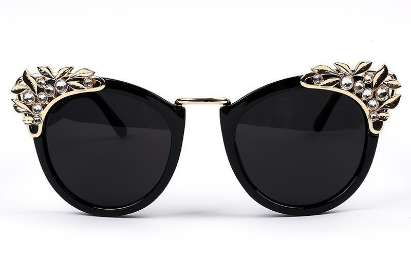 bcc6db6b7fda 2015 New Women Sunglasses Cat Eye Sunglass Women Fashion Sunglasses Luxury  Sunglass Women Sunglass Oculos Diamond Eye Cat Sun Sunglasses Shop Bolle ...