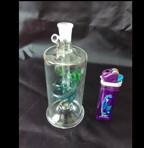 무료 배송 도매 물 담뱃대 - 클래식 컬러 플레이트 와이어 플래시 냄비, 액세서리, 색상 임의 배송을 보내
