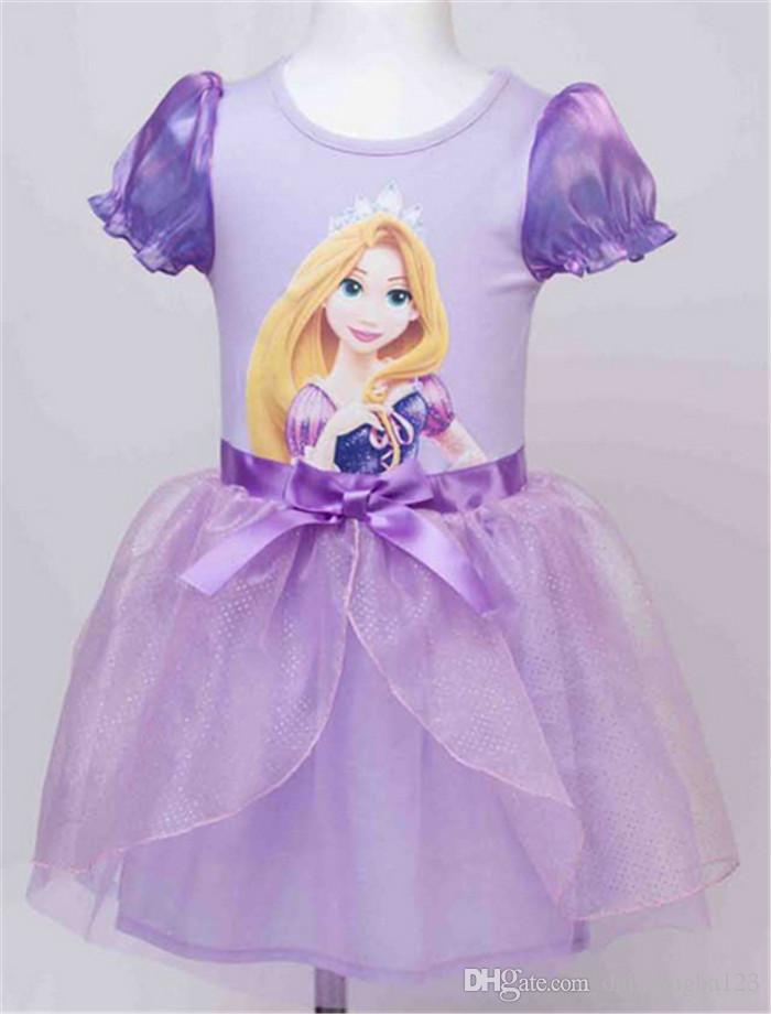 Compre Melhor Congelados Preço Vestidos De Princesa Sofia Neve Rapunzel Branco Cinderella Vestido Cosplay Vestido Tutu De Algodão Vestido De Baile