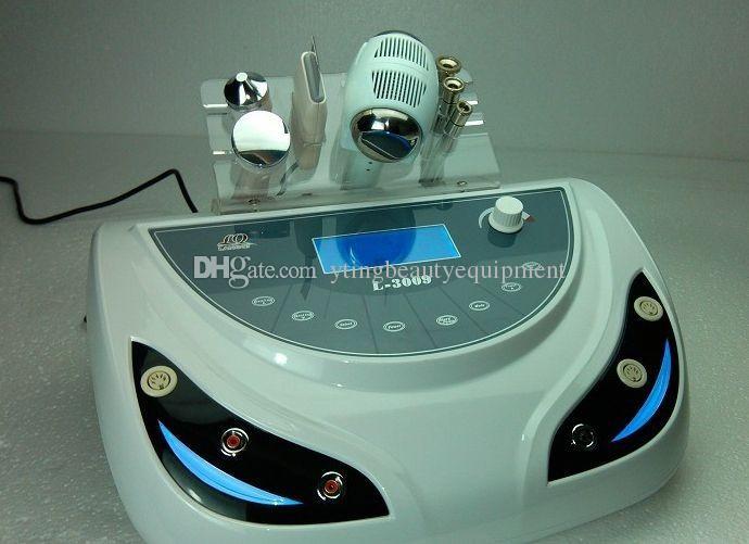 4 in 1 portable Diamond peel Dermabrasion salon machine Skin Scrubber Ultrasonic facia lRejuvenation