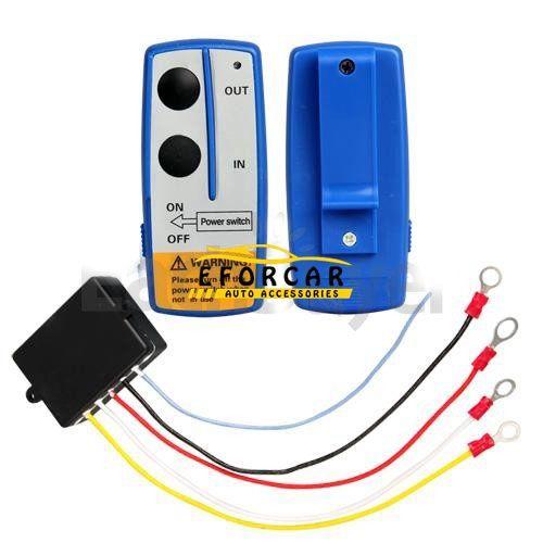 Hot Sale Wireless Winch Fjärrkontroll Twin Handset 12 Volt 12V Bil Brand New Good Quality
