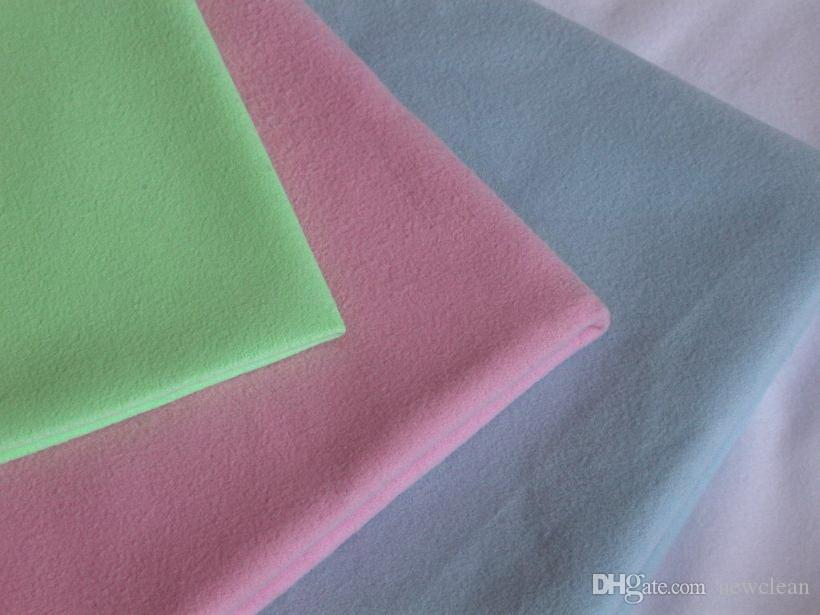 4 PC قطعة قماش للتنظيف 40x40cm ستوكات زجاج الألياف الدقيقة الجلد المدبوغ منشفة جيدة للزجاج قطعة قماش للتنظيف منشفة منشفة البصرية الشاشة