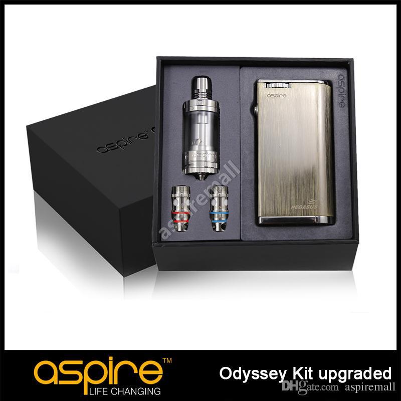 Aspire Odyssey 70W Kit with Triton Tank and Pegasus MOD Brushed Slate