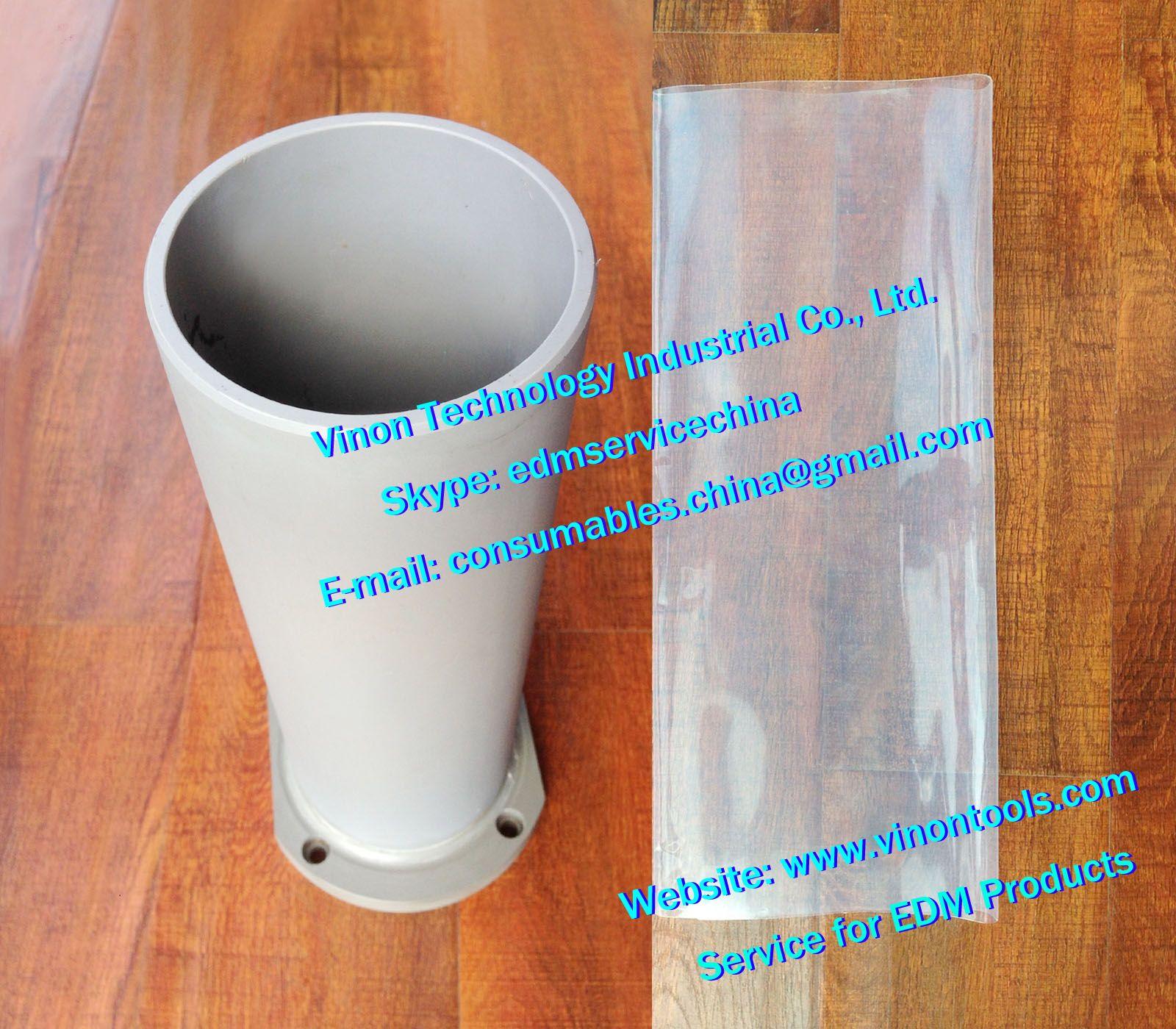 Gute Qualität EDM- Dichtungsrohr mit GF Schlauchsatz für WEDM Maschinen A325 AQ325L, 3.034.356 Welding stärkt auf Dichtungsrohr + GF verdickten Rohr