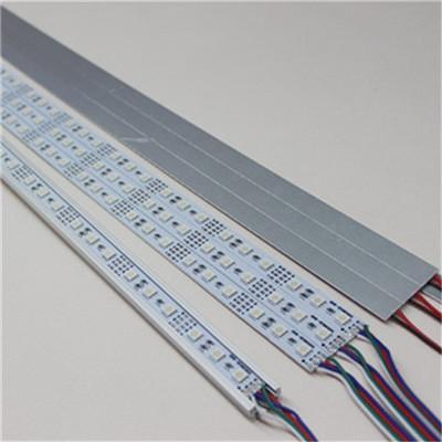 5050 LED Bar Light White Warm White RGB 72LEDs 60 LEDs SMD Cabinet LED Rigid Strip DC 12V LED Hard Strip Free shipping
