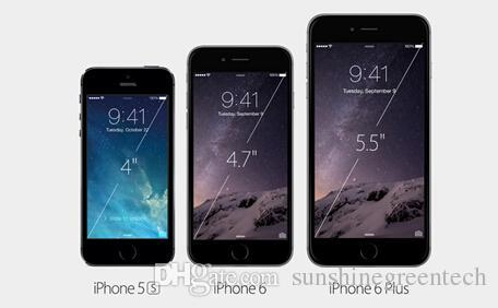 """100% Original Remis à neuf Apple iPhone 6 Plus Téléphones Cellulaires 16G 64G IOS Or Rose 5.5 """"i6s Smartphone En Gros Chine DHL libre"""