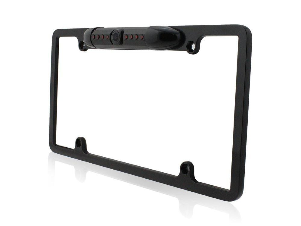 Hot selling New Waterproof USA Canada Car License Plate Frame Camera with 7 lR Led light KF-A1021