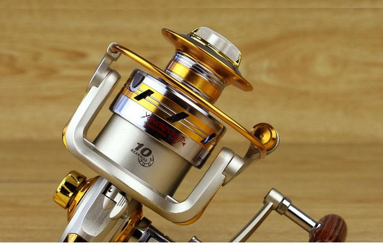 1x Exclusive quality All Metal spinning fishing reel line winder speed ratio 5.11 to Ocean Sea boat Rock Ice fishing tackle (2)