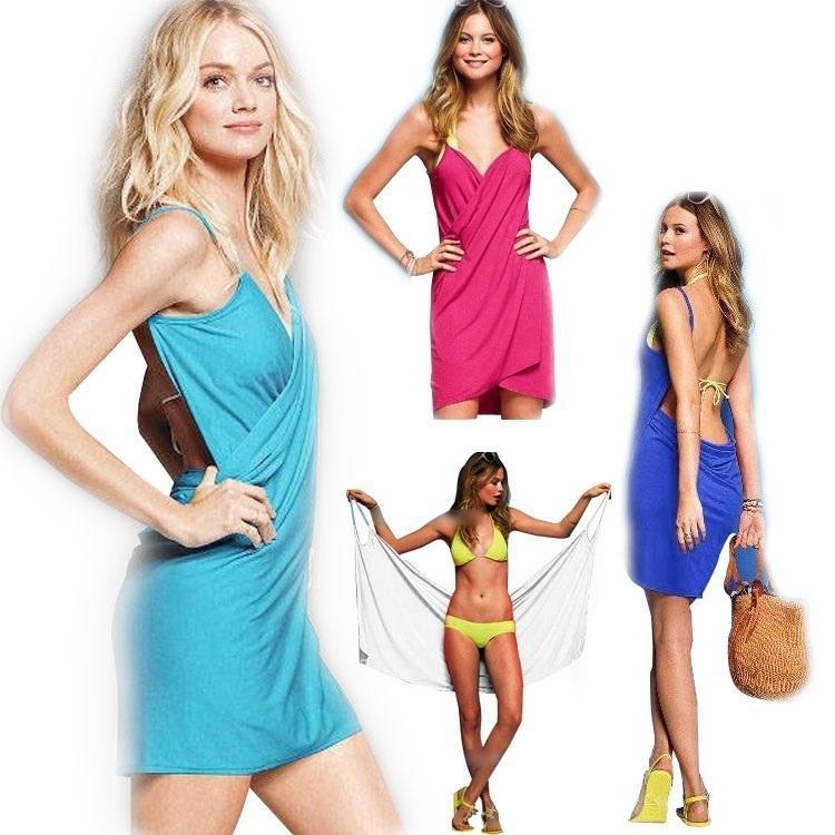 PrettyBaby Halter Skirt Swimwear Women One Piece Swimsuit Beachwear Swim  Dress Plus Size Bathing Suit Body Wrap Bath Towel Lace Summer Dresses  Evening ...