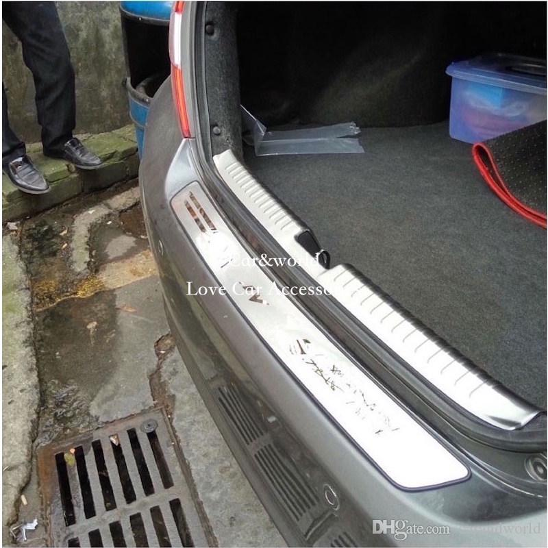 For 2012 to 2015 Honda Civic Rear Bumper Cover Door Sill Protector ...