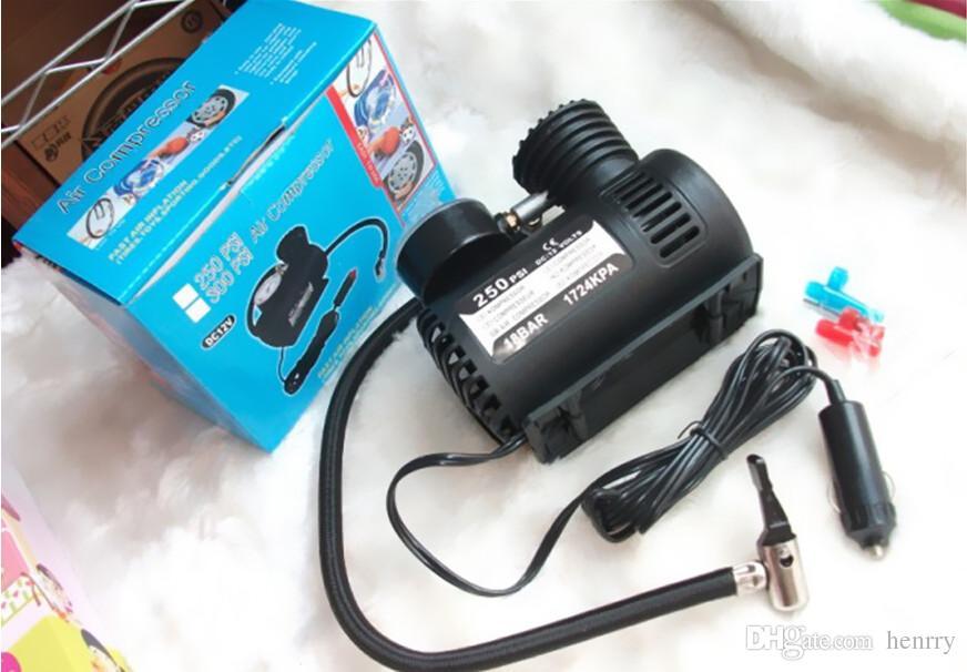 10PCS Micro-Pump 12V Car Air Pump Tires With Air Car Air Pump Mini Portable Inflatable Pump