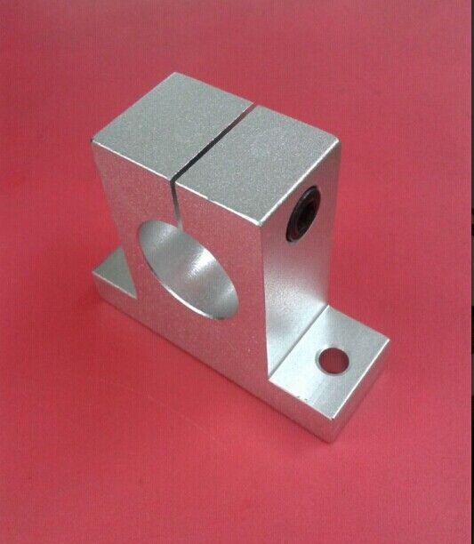 50ピースSK25 25mmリニアレールサポートシャフトサポートCNCルーターSH25A CNC部品