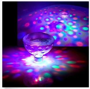 판매 촉진 LED 수영장 디스코 조명 화려한 연못 SPA HOT TUB 파티 램프 전구를보기