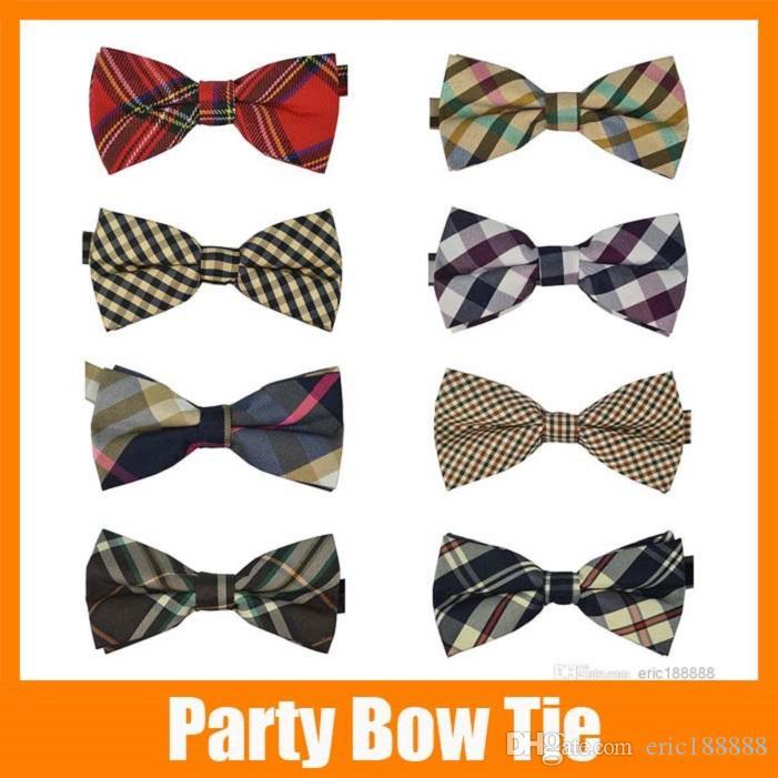 10 Pcs/lot + High quality Men's Cotton geometric Design Bow ties Men Vintage Wedding party pre-tie Bow tie