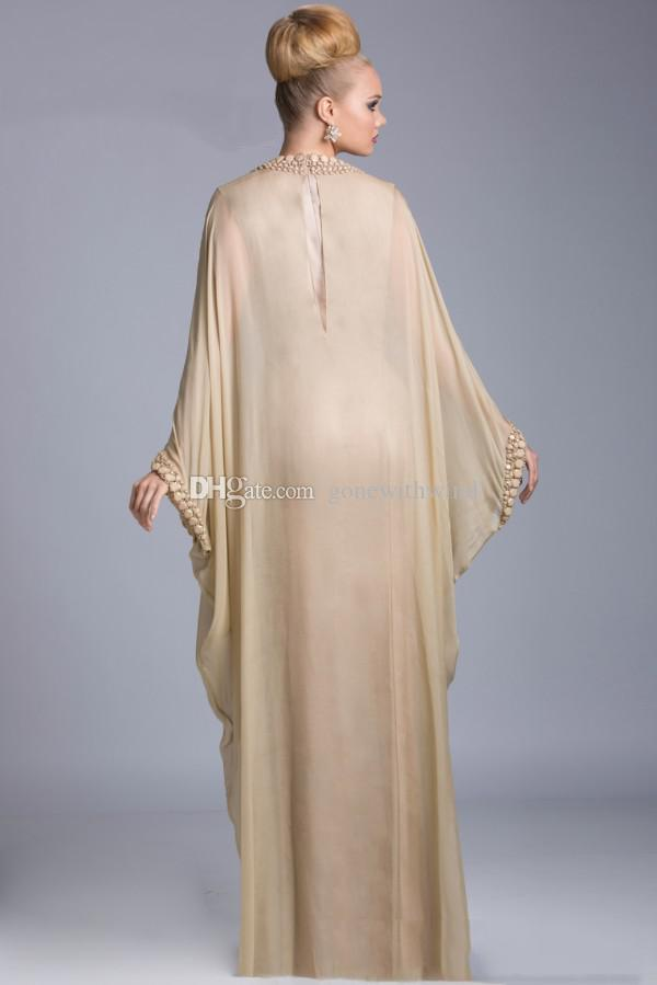 Arabic Abayas Kaftan Evening Dresses Arabia Islamic Clothing Janique