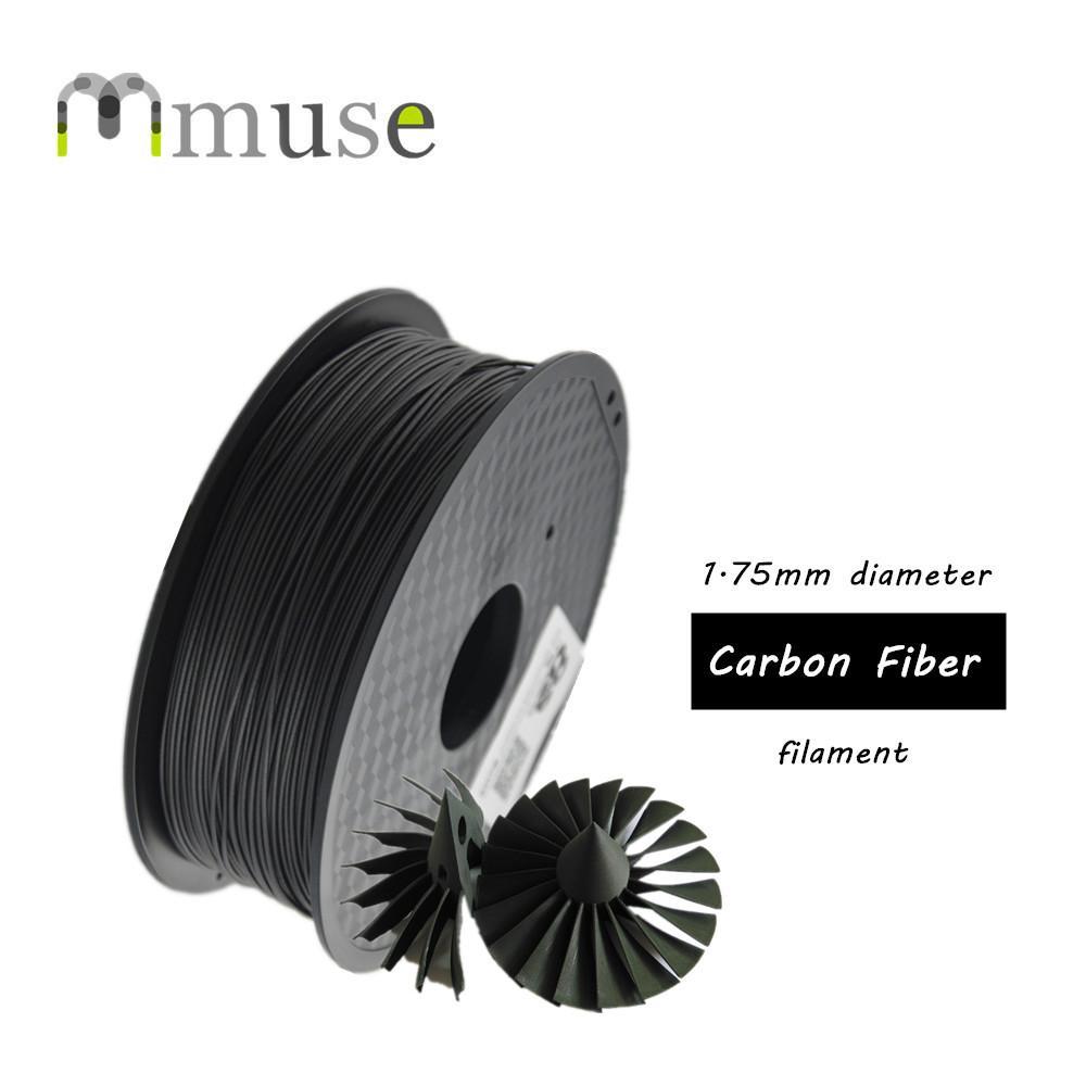 ABS 필라멘트에 1kg 높은 품질의 3D 인쇄 재료 1.75mm로 직경 탄소 섬유 필라멘트 기반