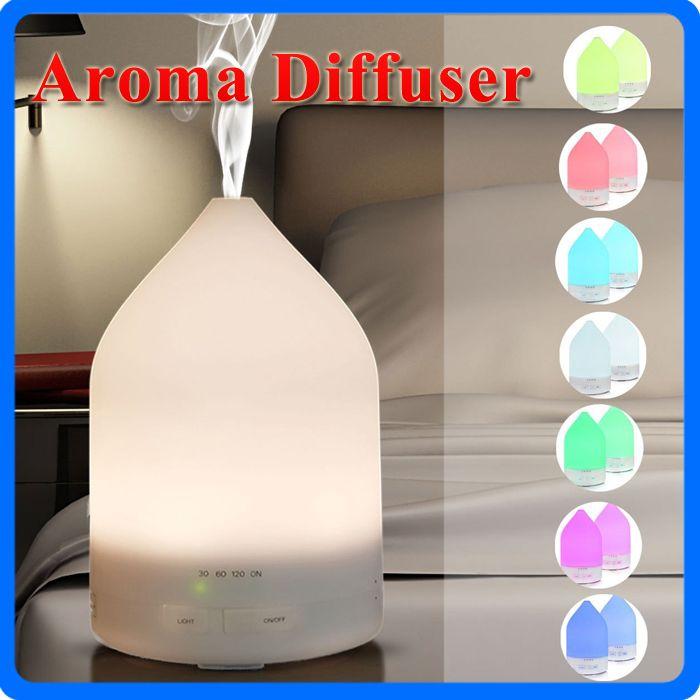 150 ml Ultra-sônica de Óleo Essencial Umidificador de Ar Difusor de Aromaterapia Fragrância Pulverizador Escritório Purificador Névoa Criador Com Luzes LED Coloridas