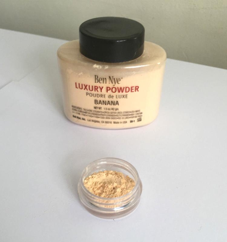 Luxury Powder 42g New Natural Face Loose Powder Waterproof