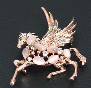 Алмаз fly лошадь груди брошь ювелирные изделия (xysppfh)