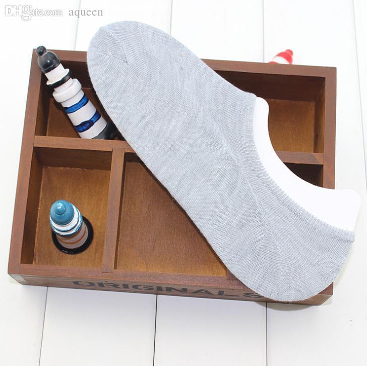 Atacado-10 peças = 5 pares barco meias New Hot Sale verão estilo homens mulheres meias de algodão da marca de qualidade esportes Sock chinelos frete grátis