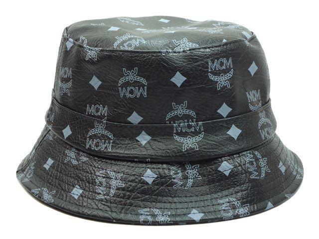 5748b42de 2015 Hot Sale MCM Bucket Hats Soft PU Leather White Basin Cap Flat Wide  Brim Fashion MCM Hats Hat Shop Hat Styles From Worldsharesport, &Price;  ...