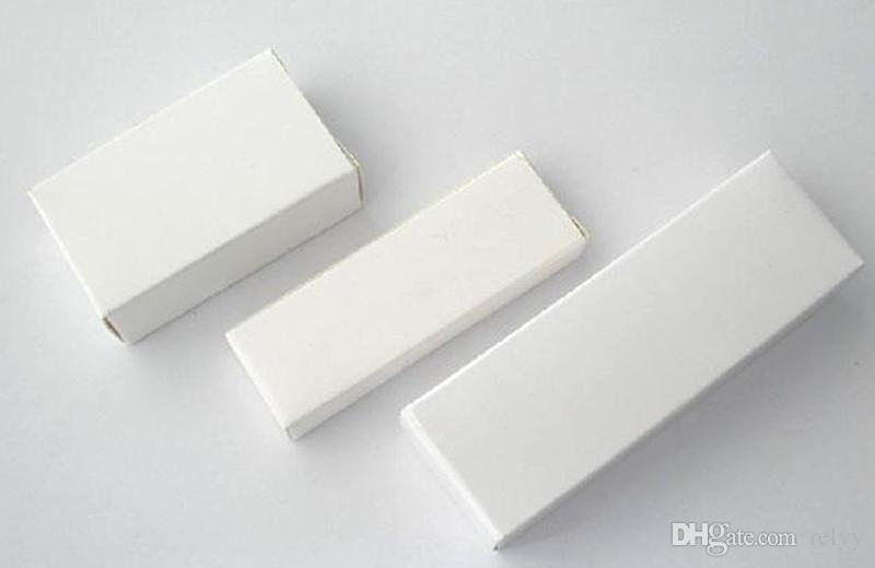 50PCS 로고 없음 화이트 박스, 여러 크기 62x23x11MM, 60x20x20MM, 78x25x12MM