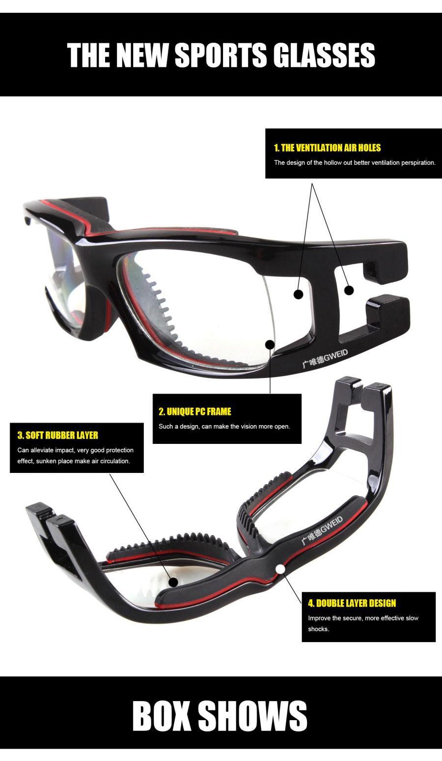Sports frames for eyeglasses - Buy Professional Sports Glasses Basketball Goggles Anti Fog Explosion Proof Eyeglass Frame Pc